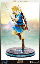 "First4Figures Zelda 10"" Link Breath of the Wild PVC Statue Regular Ed. MIB"
