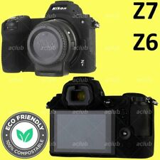 Nikon Z6 Z7 Silicone Protective Case Camera Body Skin Cover - Black