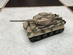 Vintage Original Diecast Corgi Toys WWII German Tiger Mk 1 Tank 900, 1973-78.