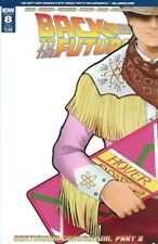 Back To The Future #8 (2016,Idw) Sub Cover, Griffith, Gale, 1st Print, Nm