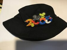 WALT DISNEY WORLD 2000 BUCKET HAT WITH RUBBER APPLIQUÉ