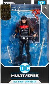 McFarlane Toys DC Multiverse RED HOOD UNMASKED (GOLD LABEL) BRAND NEW SEALED