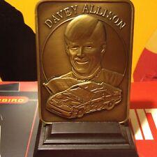 1991 DAVEY ALLISON MADISON 14 oz BRONZE PLAQUE MADE IN USA