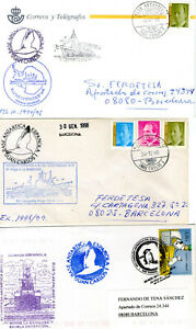 Polar Thematic.Spanish Antartic Bases covers lot