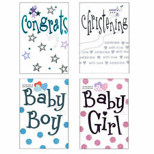 Greeting Card with Envelope - New Baby/Christening Choose Design