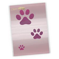 Paw Print Stencil Set - Cat / Dog Paw Prints Templates (3 sizes of paw print)
