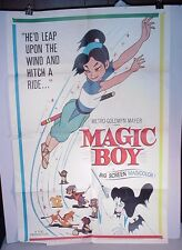 MGM Magic Boy Movie Poster 1960 original One Sheet 27 x 41 by Toei in Magicolor
