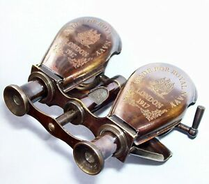 Collectible Vintage Brass Binocular Marine Telescope Maritime Antique Event Gift