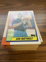 (90) 1990 Topps #200 Don Mattingly New York Yankees NM-MT+ Lot