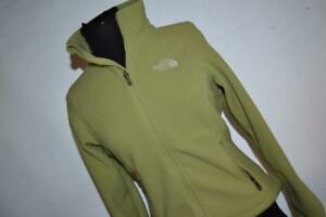 25815-a Womens The North Face Fleece Jacket Size XS Green