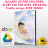 LULLABY FOR CHILDREN, SLEEP AID FOR KIDS, RELAXING, instant Download Delivery