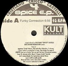 CRICCO CASTELLI - 4 Spice EP - 1996 Kult Usa - KULO 997