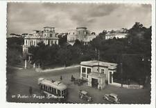 82798 PORTICI PIAZZA BELLAVISTA TRAM MOLTO NITIDO 1955