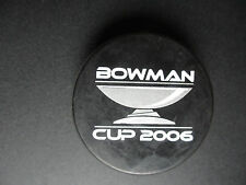 2006 BOWMAN CUP PUCK NEW YORK  HIGH SCHOOL HOCKEY CHAMPIONSHIP