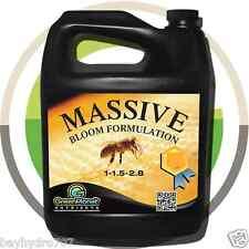 Massive Bloom Green Planet Nutrients 1 Gallon Bottle SAVE $$ W/ BAY HYDRO $$