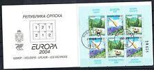 Bosnien Herzegowina Serb. Rep. 300/01 o MH 7 Europa 04 Michel 13,00 (2147)