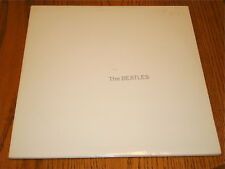 THE BEATLES WHITE ALBUM CAPITOL LABEL WHITE COLORED VINYL COMPLETE w/INSERTS