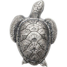 2017 Palau Sea Turtle 45 g Silver Antiqued $10 Coin In OGP SKU47298