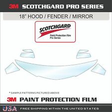 3M Scotchgard Pro Series Paint Protection Film Fits 17-18 Volkswagen Golf