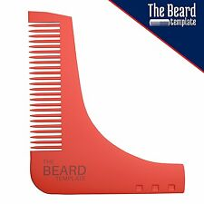 Manscape Beard Trimmer Comb Self Cut System Grooming Kit Template  For Groomer