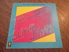 """45 tours THE SUMMER DREAMS B.O. du film """"l'ete de nos quinze ans"""" fast and faste"""