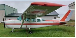 1962  Cessna 205(210-5) Passenger/Skydiving Plane