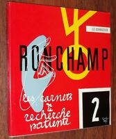 Le Corbusier RONCHAMP 1975 architecture Les Carnets de la Recherche Patiente 2