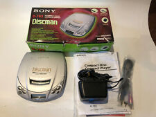 Boxed Vintage Retro Sony Discman D-193 Working : Good Condition - Power Supply