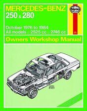Haynes Owners Workshop Manual Mercedes-Benz 250 280 123 (76-84) SERVICE REPAIR