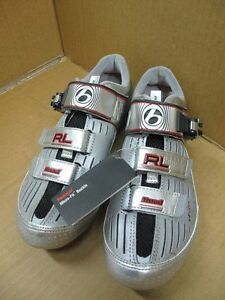 BONTRAGER RL Cycling Road Shoes Silver Carbon New Race Lite Inform