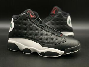 "Jordan 13 ""Reverse He Got Game/Black/White/Red"" Sz 10 414571-061"