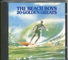 THE BEACH BOYS - 20 golden greats  CD 1987 CDP 7 46738 2