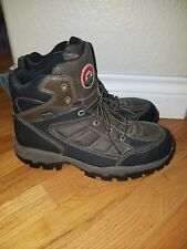 RED WING - IRISH SETTER BOOTS MENS WORK HIKER BOOT ELY ULTRA DRY SAFETY TOE 9