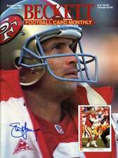 Steve Young Psa Dna Coa Autograph 1993 Beckett Hand Signed Authentic