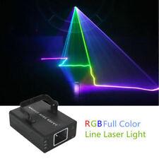 Mini RGB Laser Projector Light DMX Master-slave DJ Xmas Party Show Stage Light
