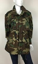 Alpha Industries Men's Coat Army Camouflage Green Insulated Liner Size Large