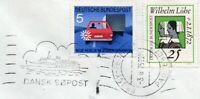 1975 Germany Cover to Vienna with Danish Paquebot Cancellaion