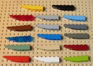 LEGO - SLOPE CURVED 6 x 1 Inverted,  Choose Colour & Qty, (Part No. 42023) Z5