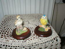 THE RUSSELL WILLIS COLLECTION  BABY BLUETIT WB61 & BABY LAPWING WB68