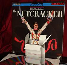 American Ballet Theatre - 'THE NUTCRACKER'- Baryshnikov -12-inch Laser Disc, NM
