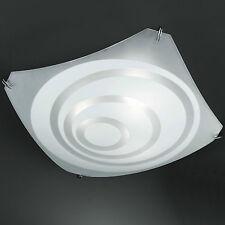 Honsel lámpara de techo 3 llamas cromo Vidrio raso Decoración Cocina CORREDOR