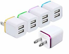 Wall Charger, 15W Universal Dual Port 2.1A & 1A Rapid Portable USB Travel Wal...