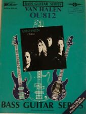 VAN HALEN BASS GUITAR TAB / BASS TABLATURE / OU812 / BASS EDTION