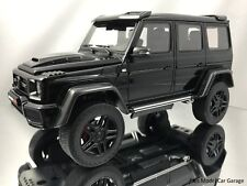 GT Spirit Brabus 500 4X4²  Mercedes Benz G500 Black with Carbon Fiber 1/18