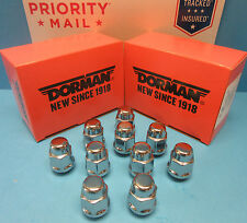 10 Wheel Lug Nut Acorn Bulge Seat Replaces GMC OEM # 611174 CHROME