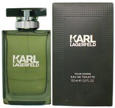 Karl Lagerfeld For Men EDT Cologne Spray 3.3oz Shopworn New