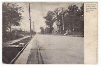 1910's MEMPHIS TN UNION AVENUE HOMES BELLEVUE VINTAGE POSTCARD TENNESSEE BEE NE