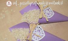 50 Coni porta riso confetti confettata per matrimonio nozze sposi