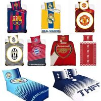 Official Football Club Kids Bedding Single & Double Duvet Quilt Cover Bed Set