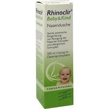 RHINOCLIR Baby & Kind Nasendusche Lösung 100ml PZN 8759569
